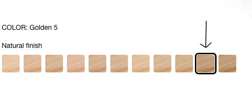 shiseido synchro skin shades