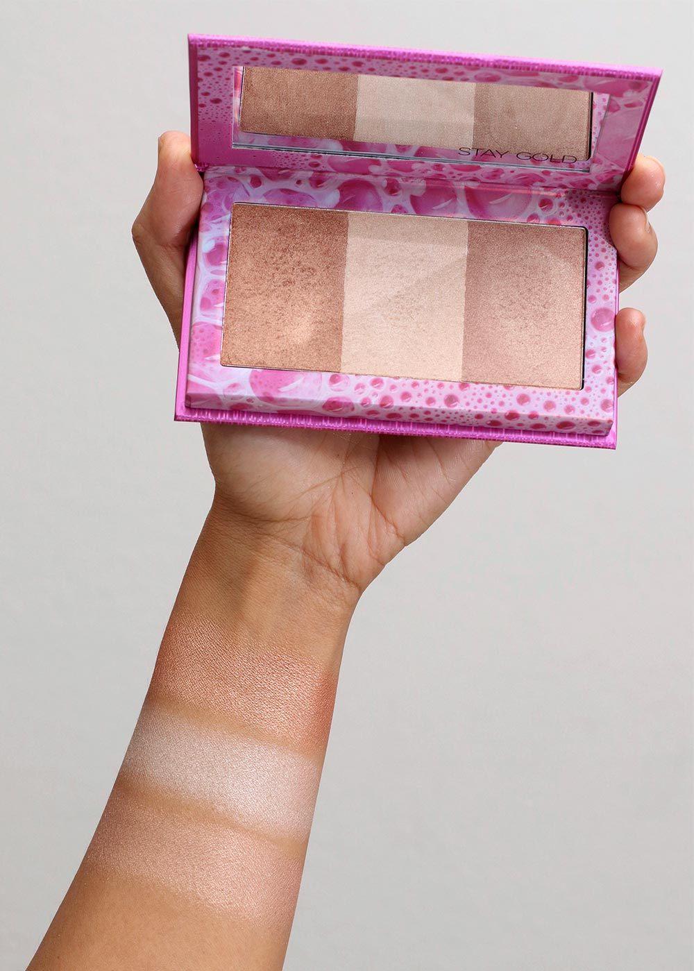 urban decay kristen leanne beauty beam swatches