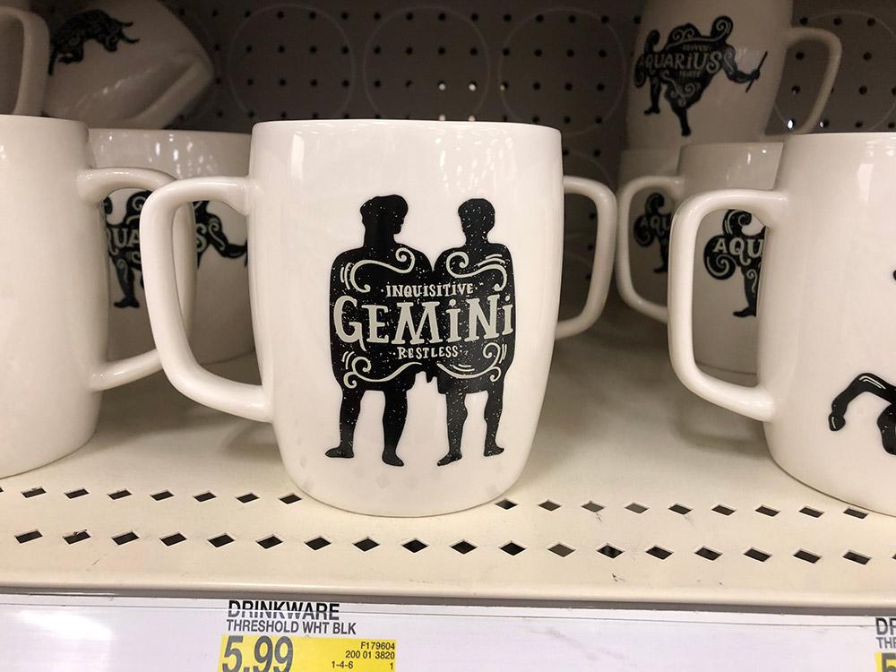 gemini mug target