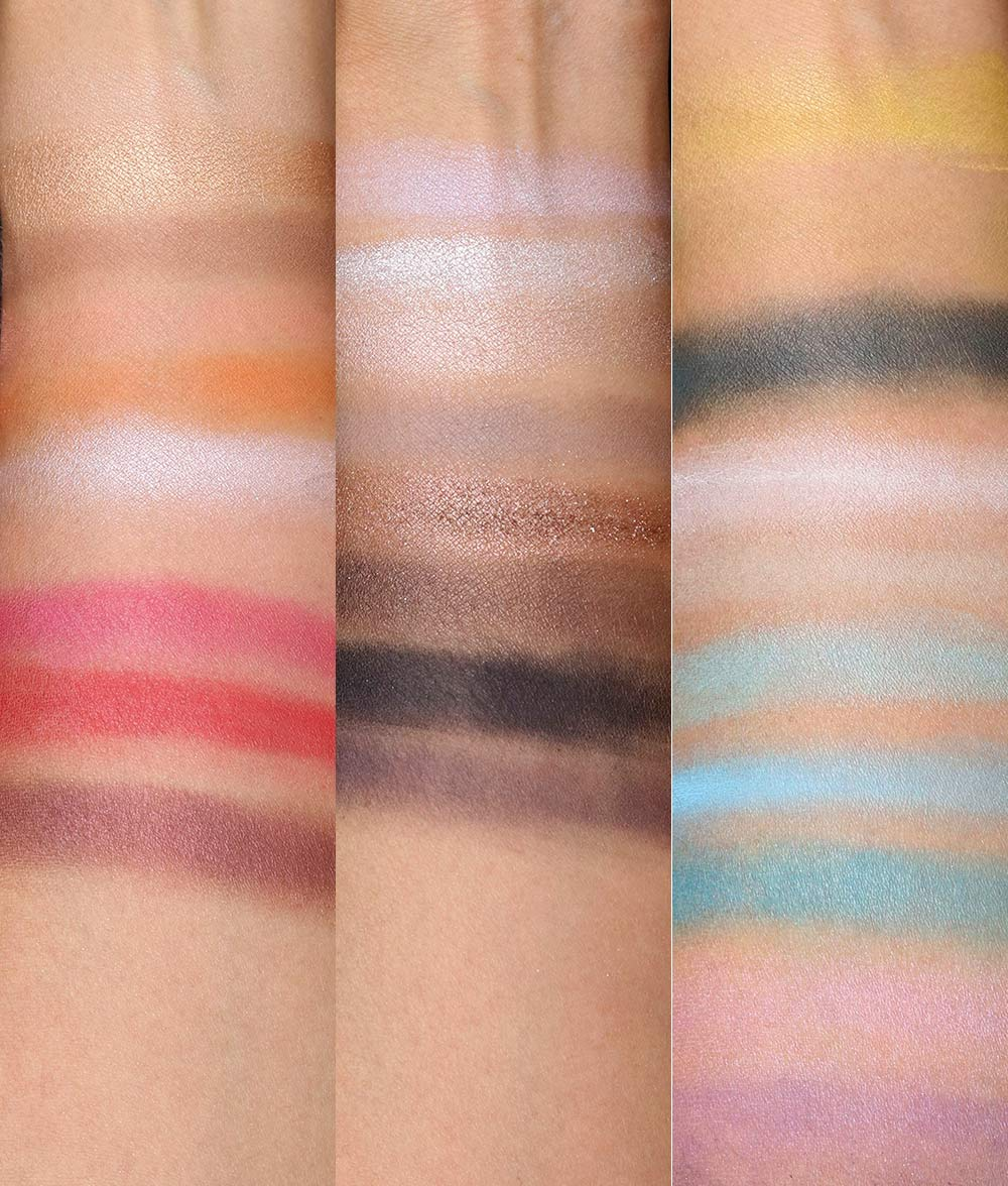 mac jeremy scott low fi eye shadow swatches