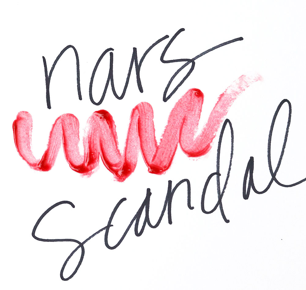 nars scandal swatch