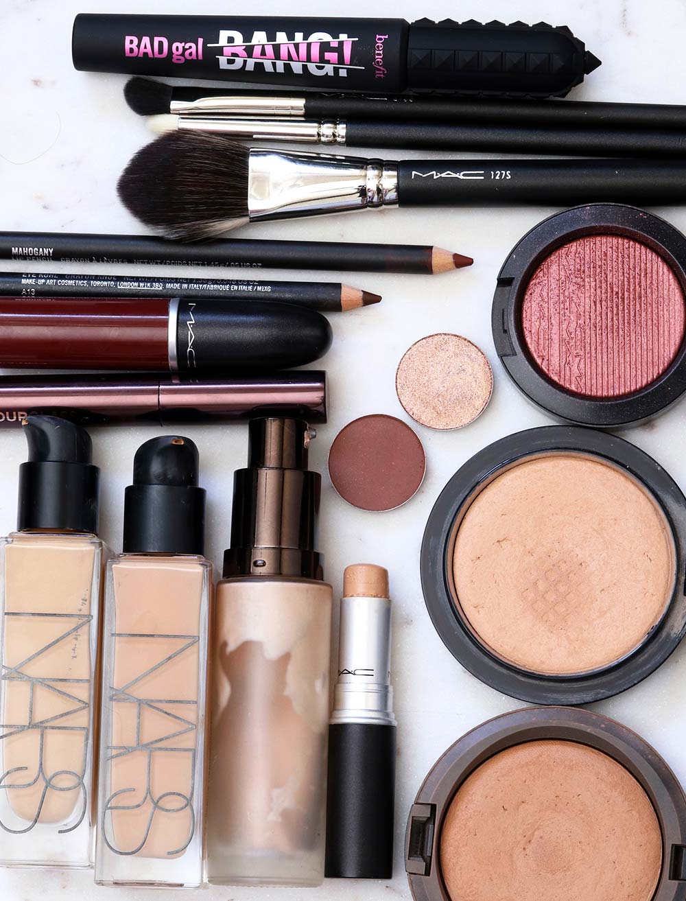 red brown smoky eye tutorial products