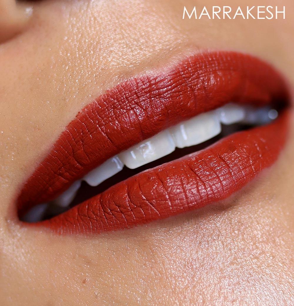 mac marrakesh lipstick swatch