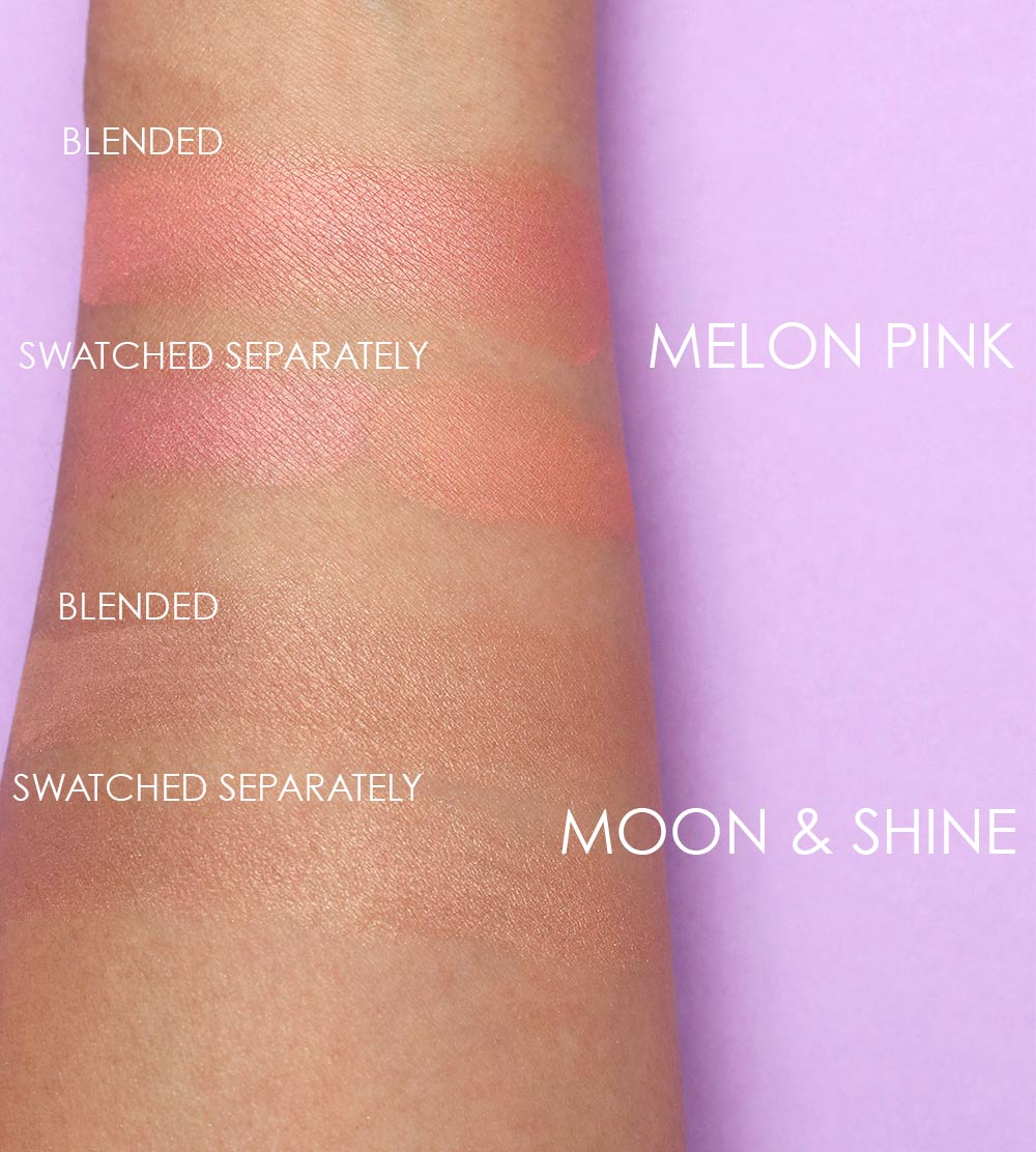 mac padma blush duo swatches