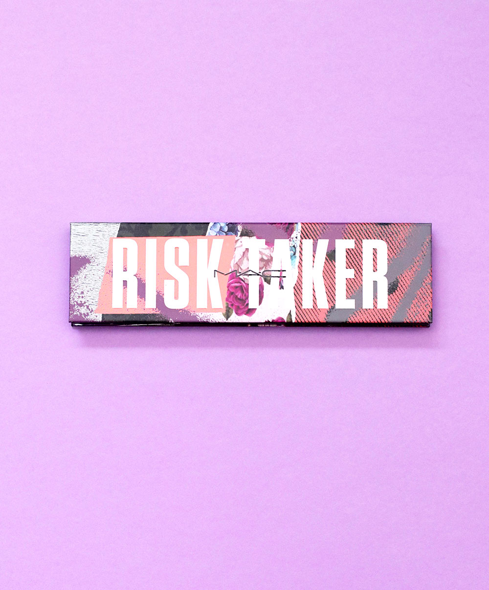 mac risk taker palette packaging