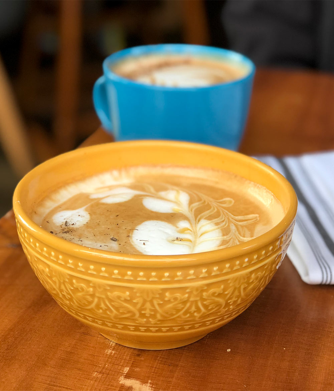wisbone petaluma beekeeper latte