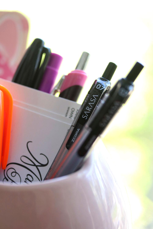 zebra sarasa gel pen