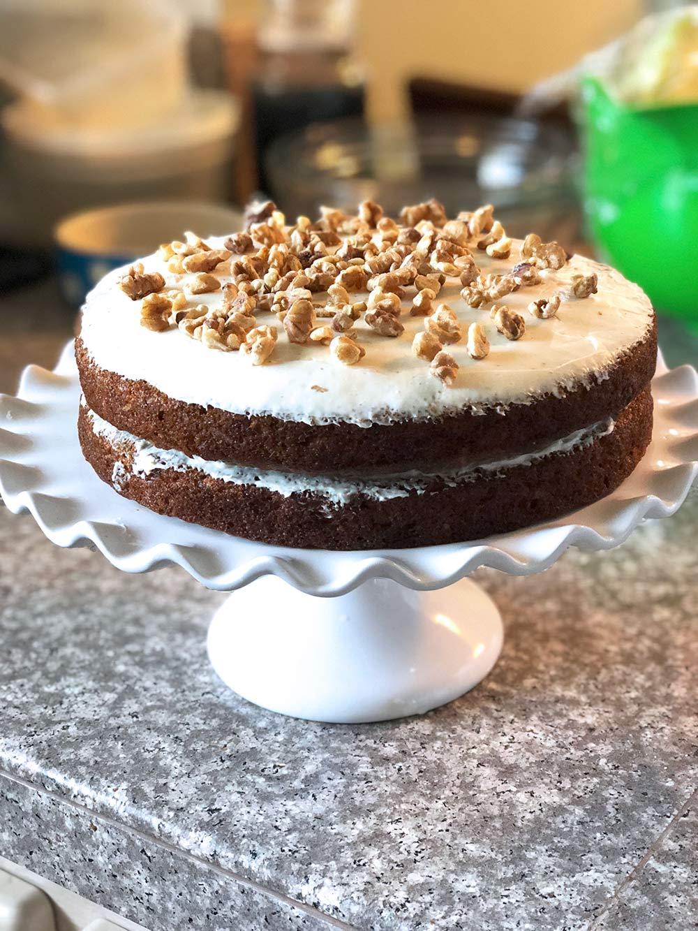 easter 2018 carrot cake