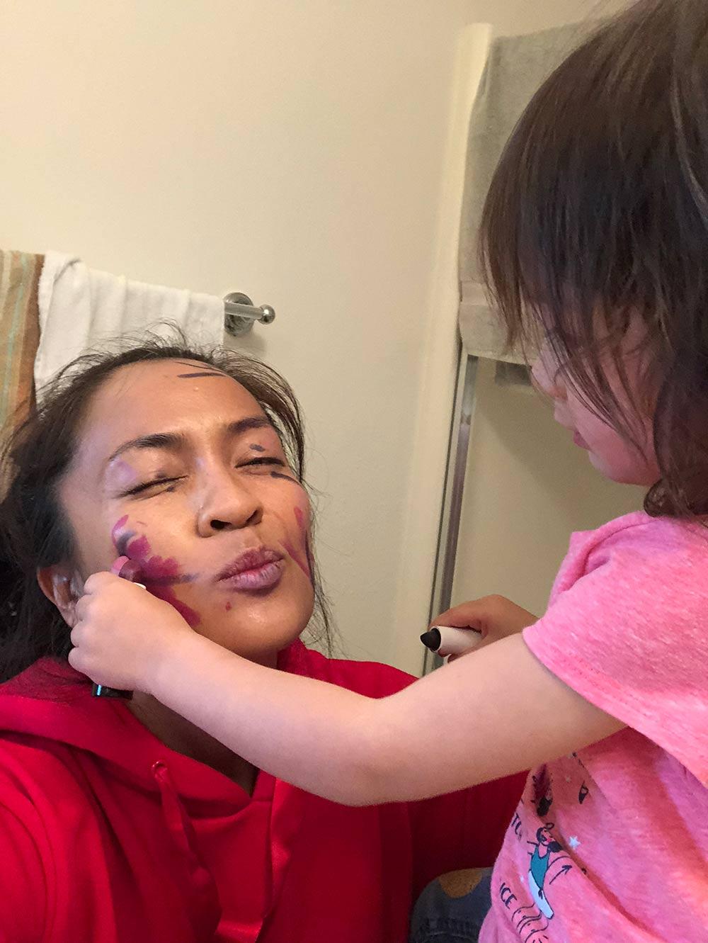 mac nico panda connor makeup artist
