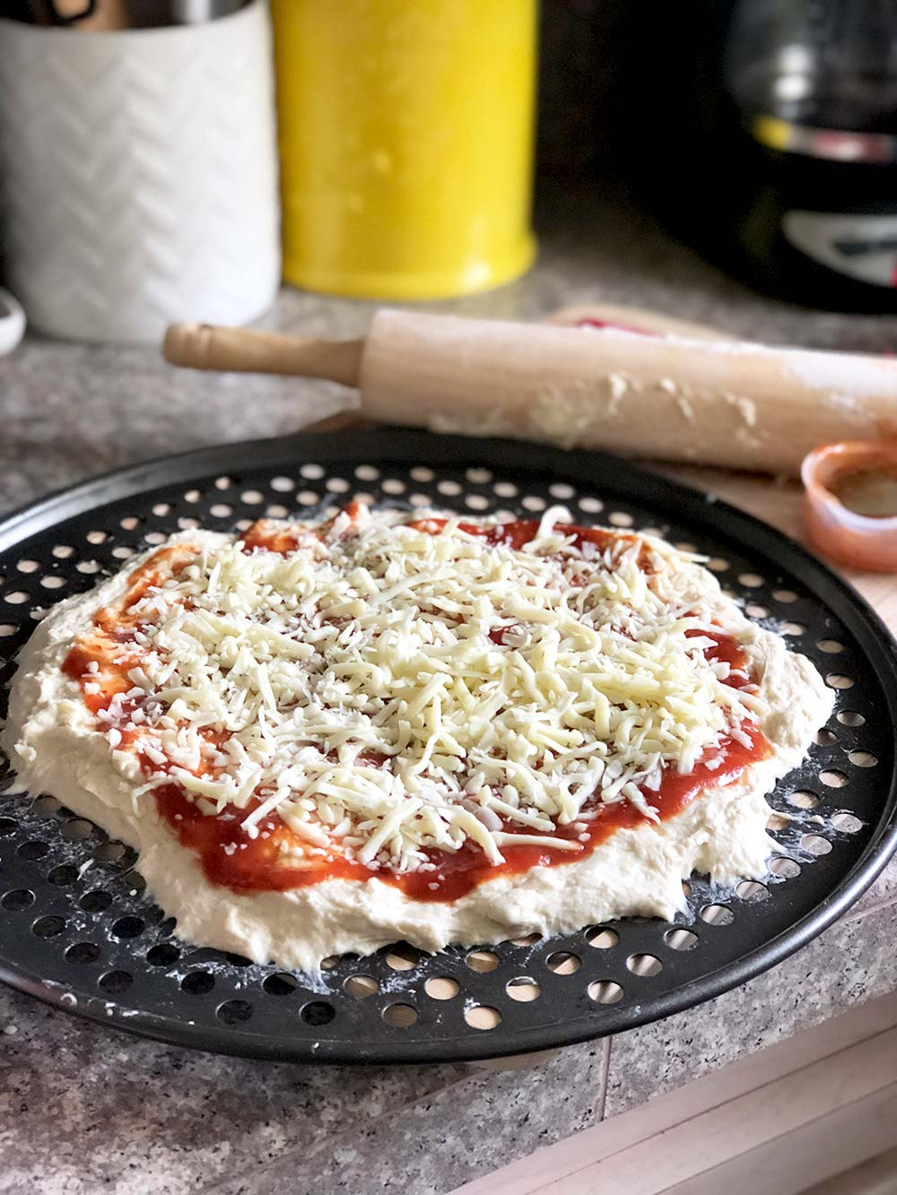 shredded mozarella