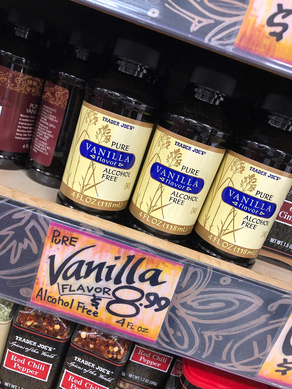 trader joes pure vanilla extract