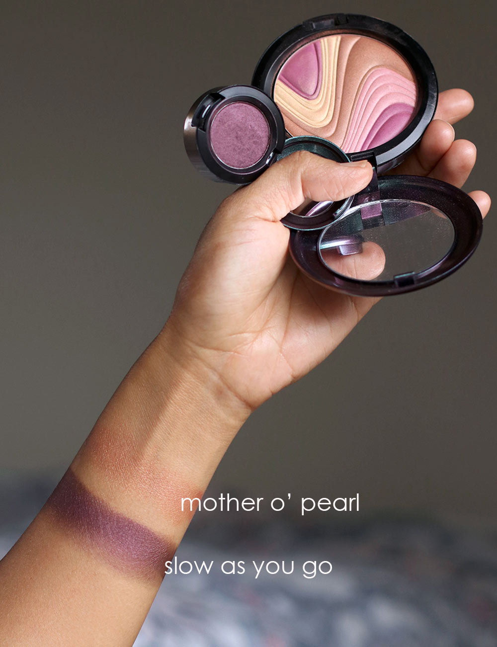 mac mirage noir mother o pearl slow as you go