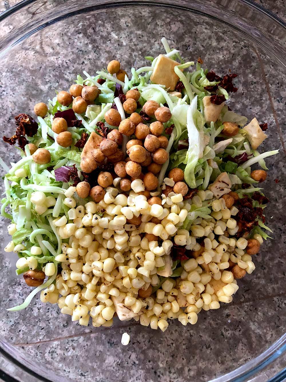 trader joes mediterranean style salad kit
