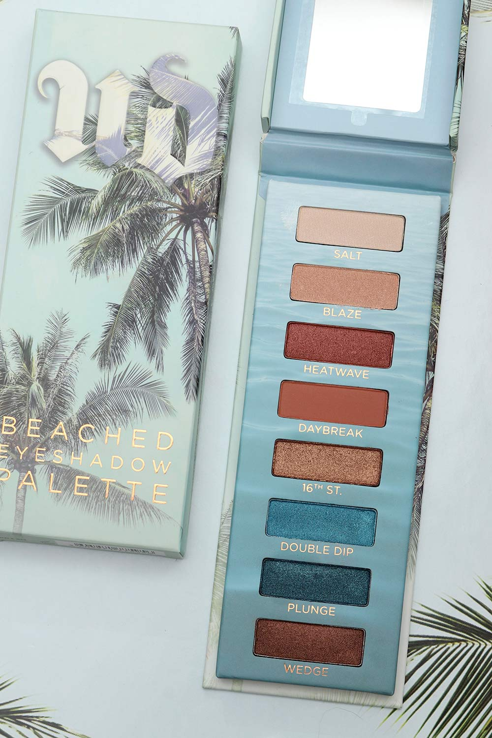 urban decay beached palette