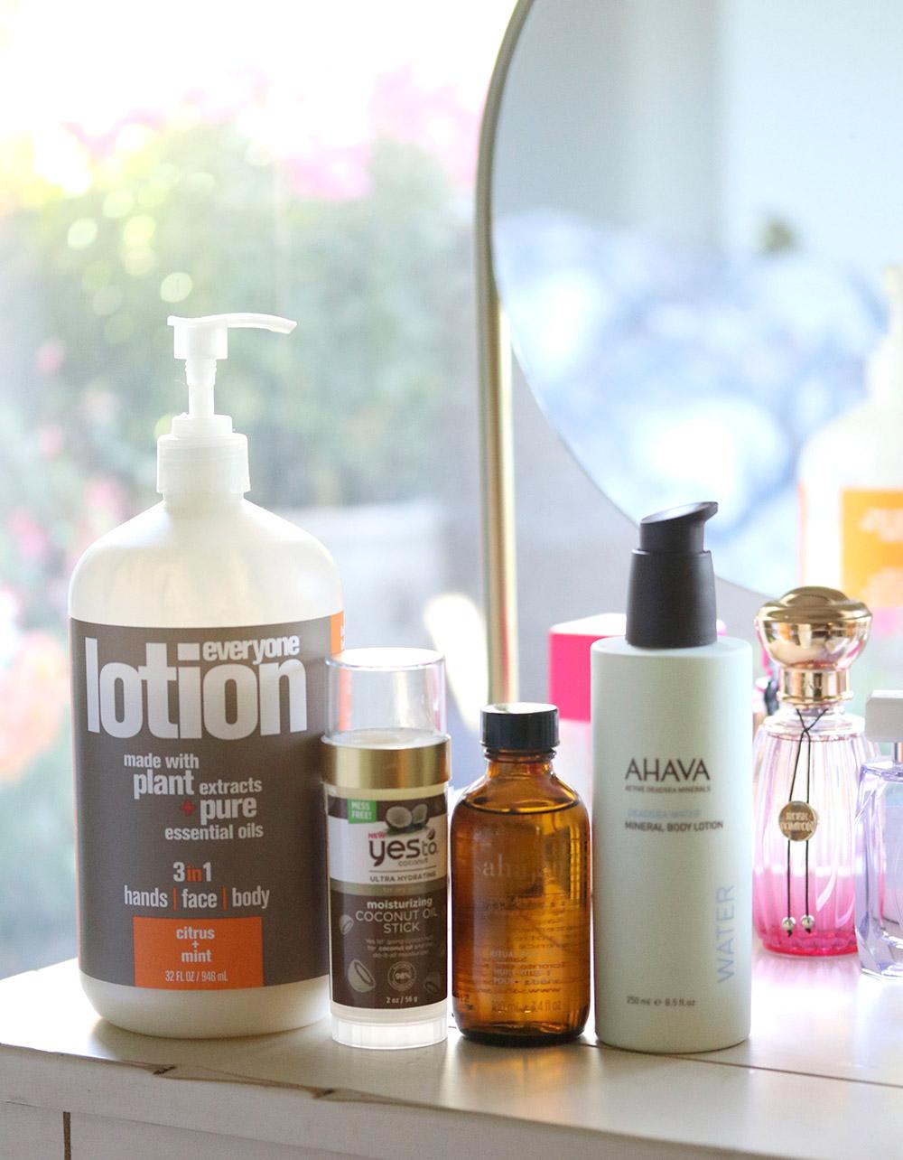 moisturizers shower files