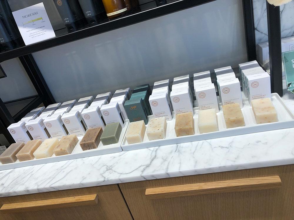 saje wellness soaps