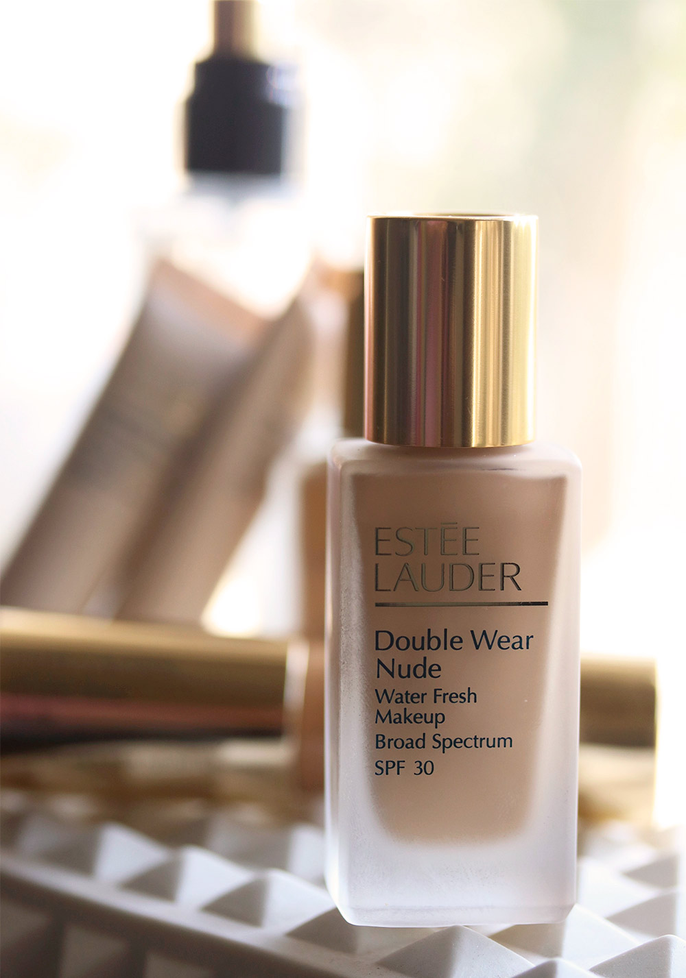 estee lauder double wear water fresh makeup honey bronze