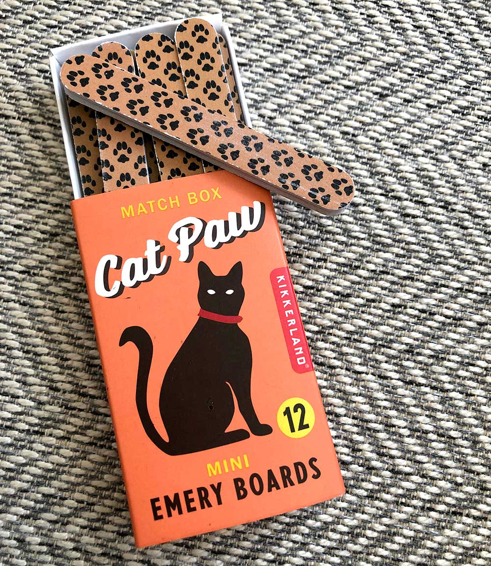 cat paw emery boards