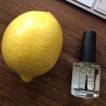 lemon in purse