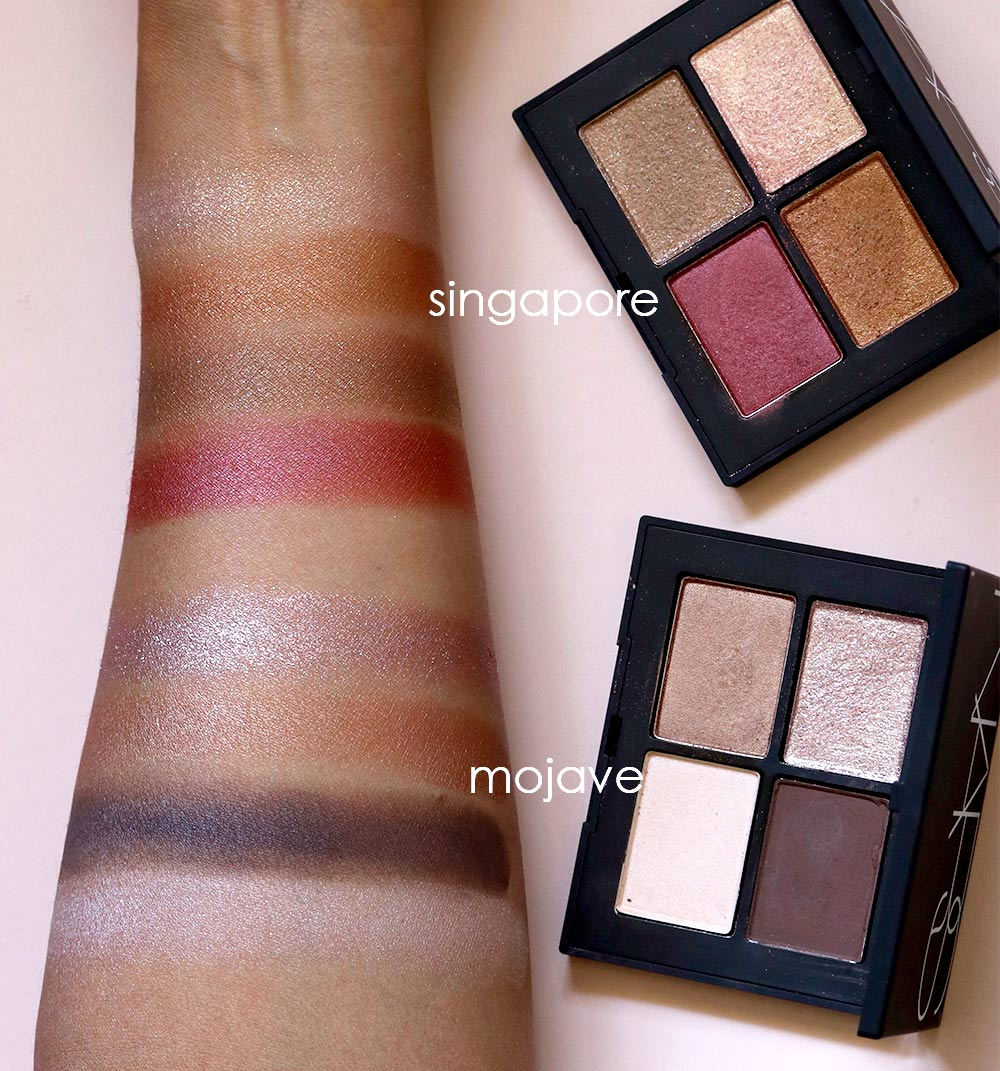 nars fall 2018 swatches singapore mojave