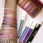 urban decay aphrodisiac collection swatches