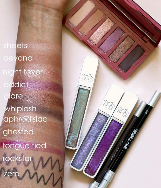 The Urban Decay Aphrodisiac Collection (Swatches and First Look)
