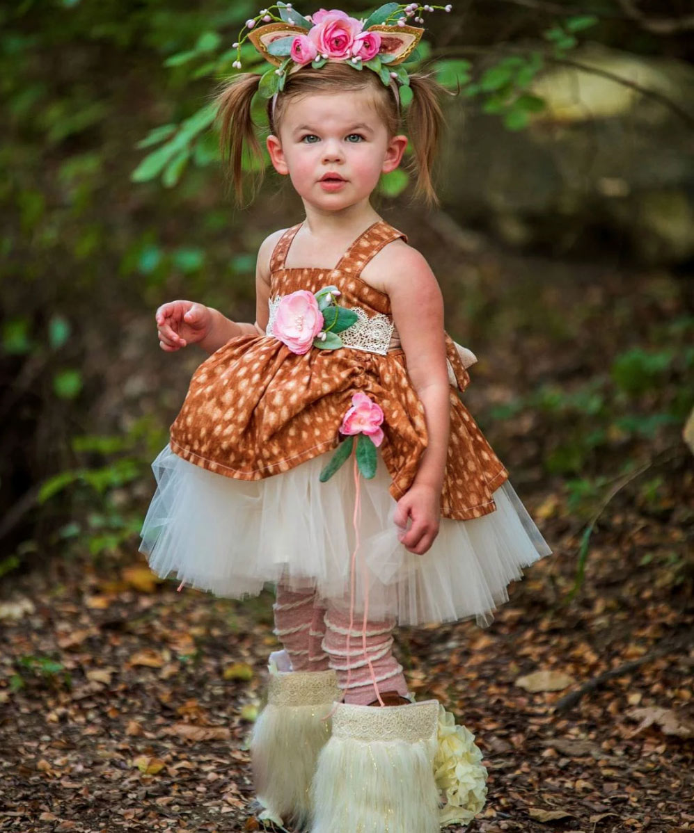 Flora Deer costume woodland deer costume girls deer   Etsy - When Did Kids Costumes Get So Intense?