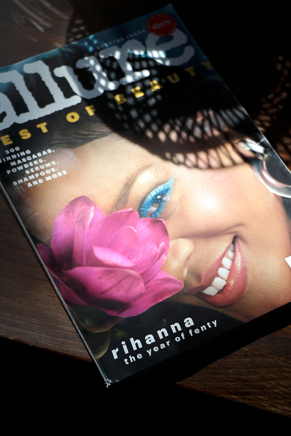 allure best of beauty cover rihanna