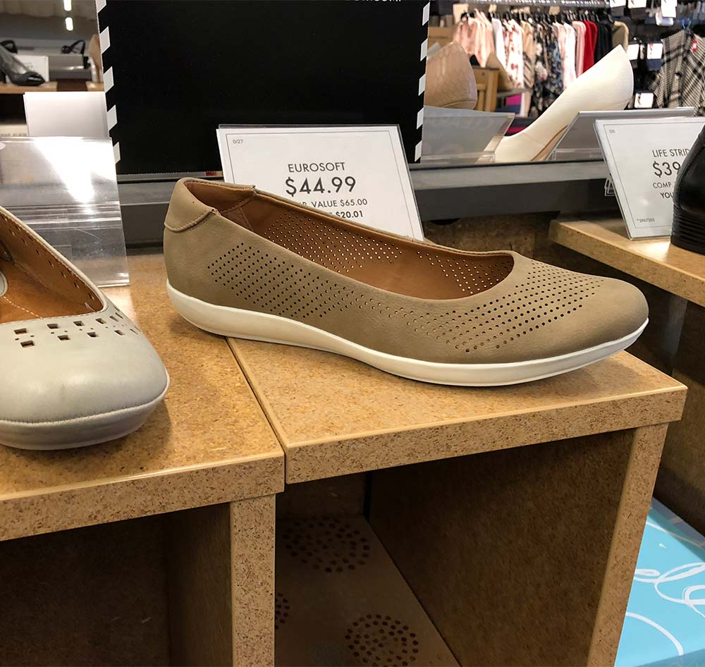 euroseoft nude flats - Searching for Nude Flats at DSW (and a Trick to Help You Look Taller)