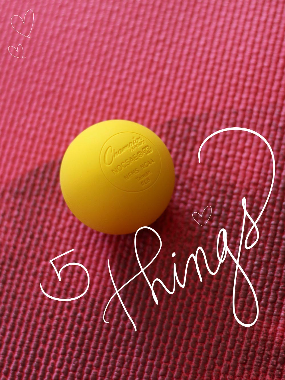lacrosse massage ball top