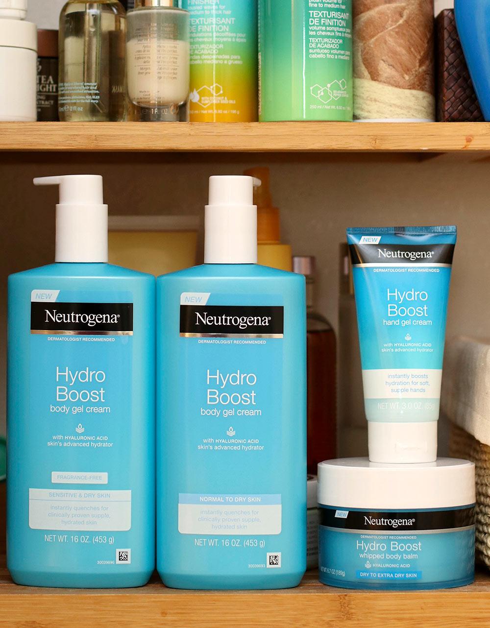 neutrogena hydroboost gel cream - [The Shower Files] Gel Cream Dreams! The New Neutrogena Hydro Boost Body Gel Cream, Body Balm and Hand Gel