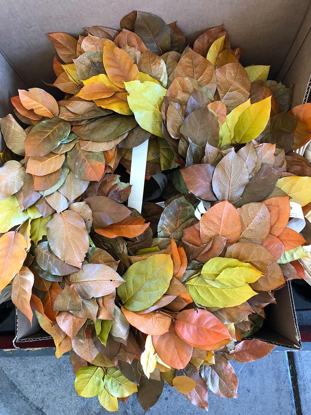 tjs leaf wreath