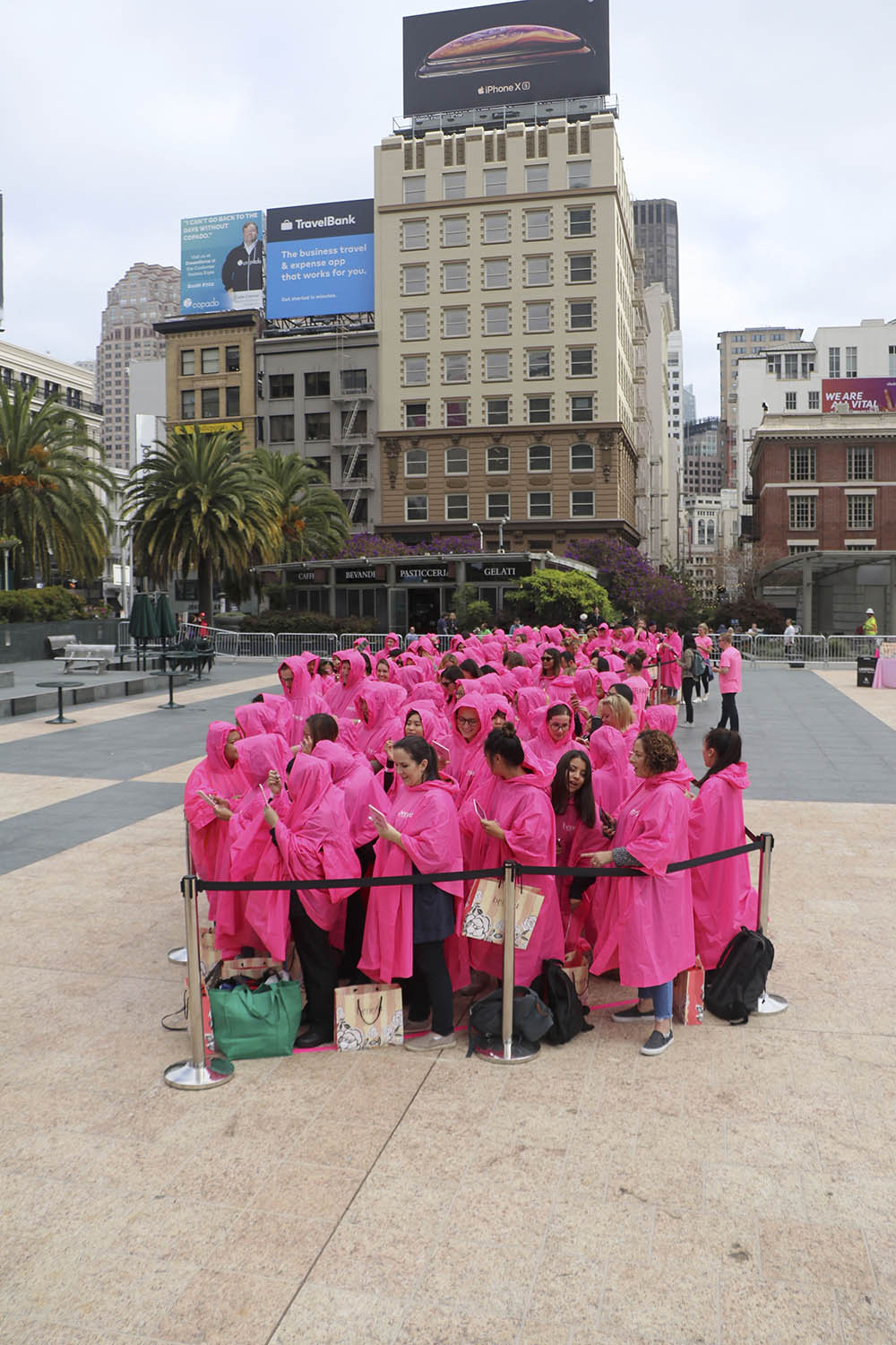 benefit brow day pink poncho brow 2 - Benefit Set a New Guinness Book of World Records Record in the Brow Arts!