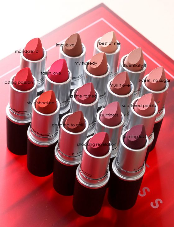 Kiss 'n' Telling on the New MAC Powder Kiss Lipsticks