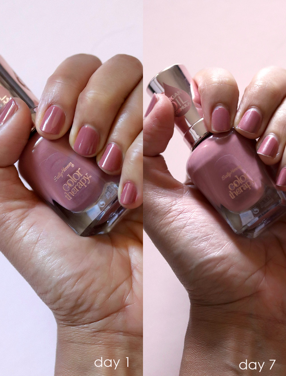 sally hansen pink and harmony