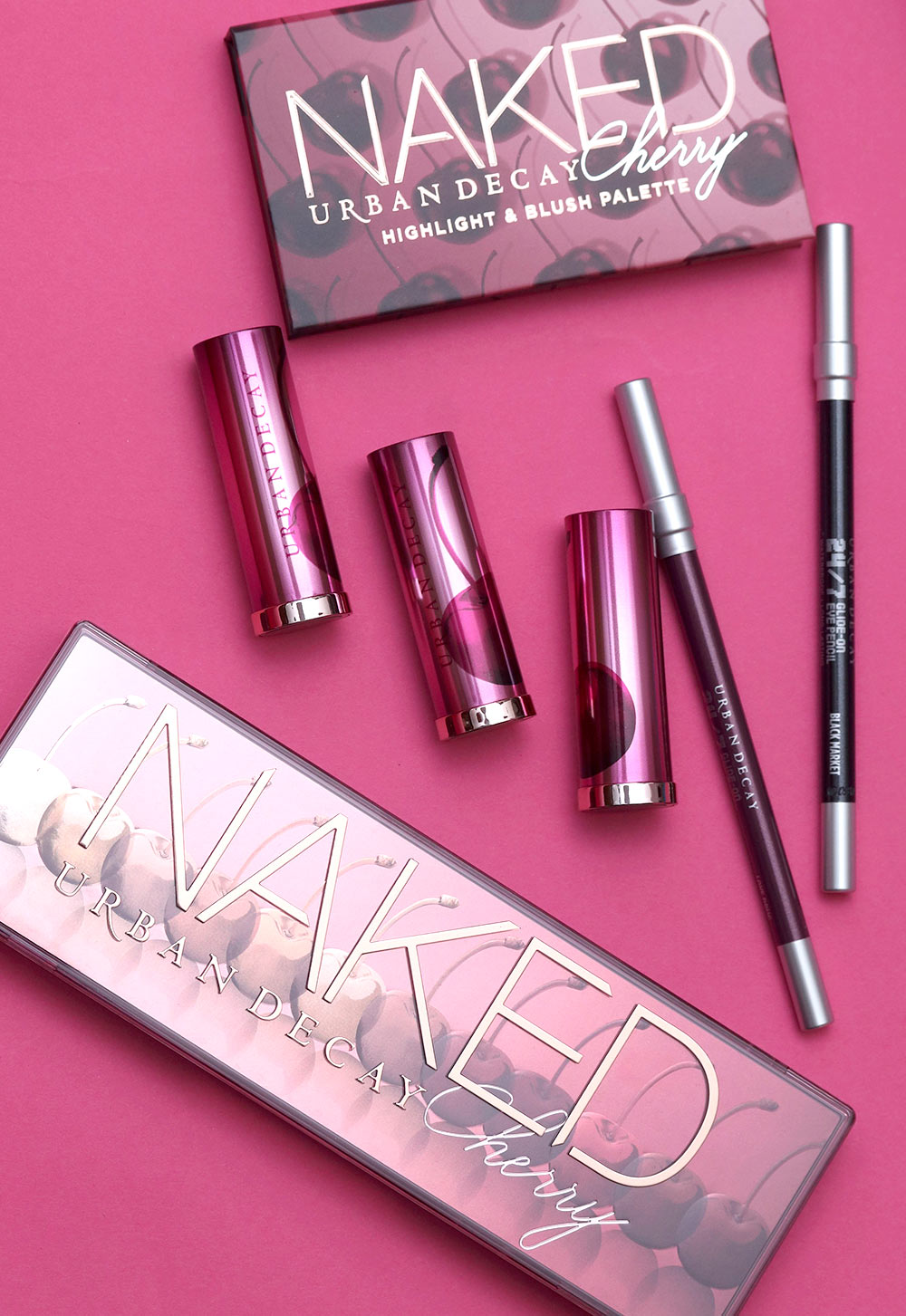 urban decay naked cherry collection packaging