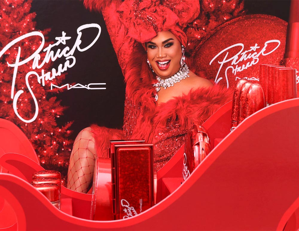 mac patrick starrr holiday collection 2018