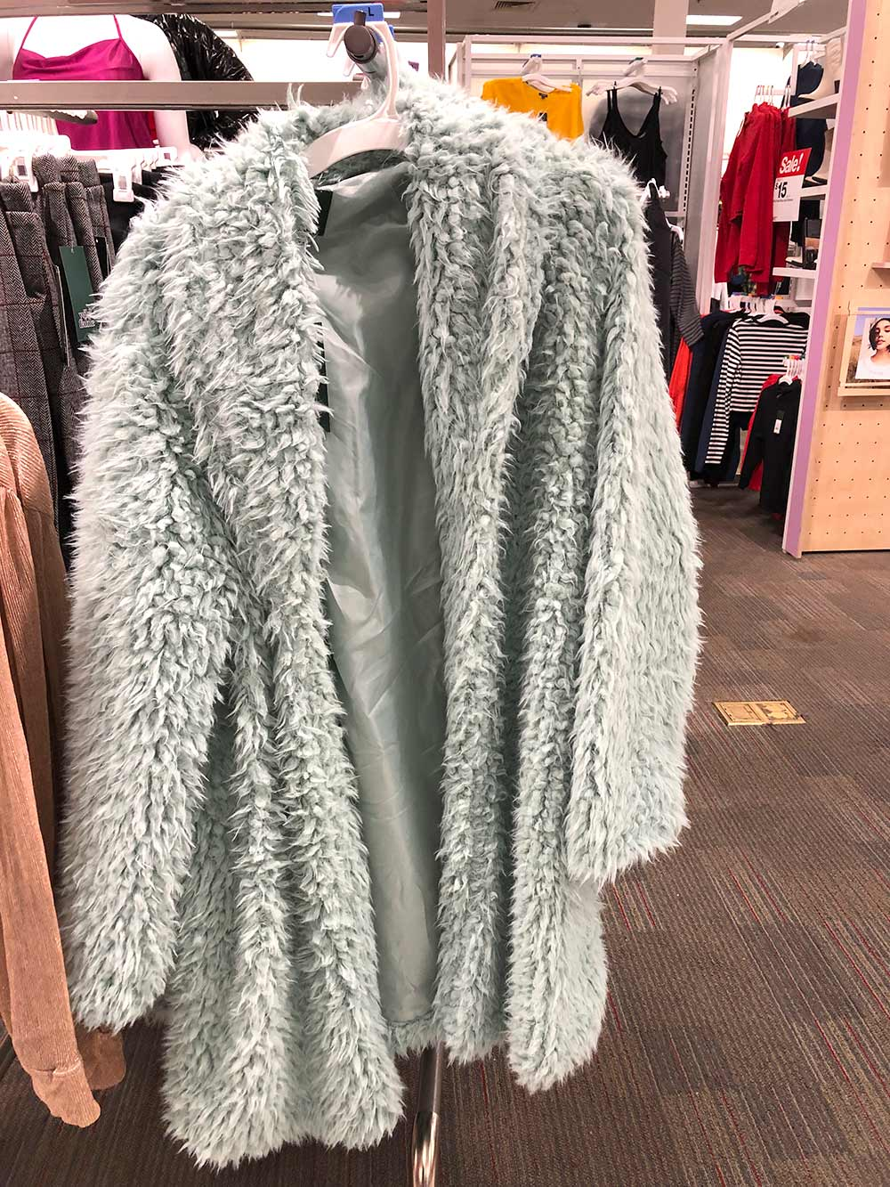 target muppet coat