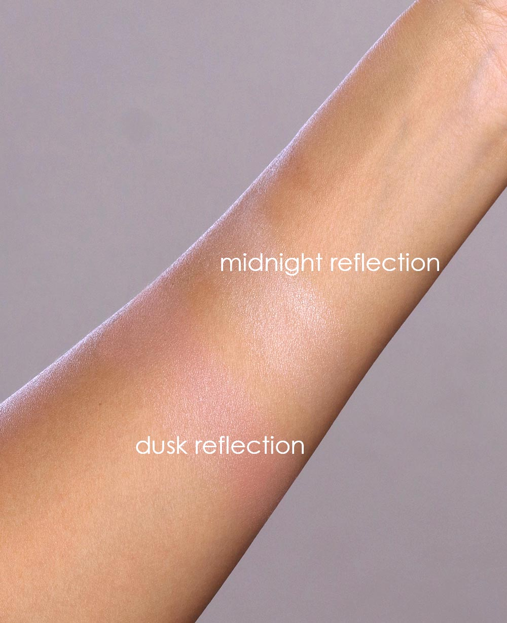 honest beauty luminizing glow powder swatches