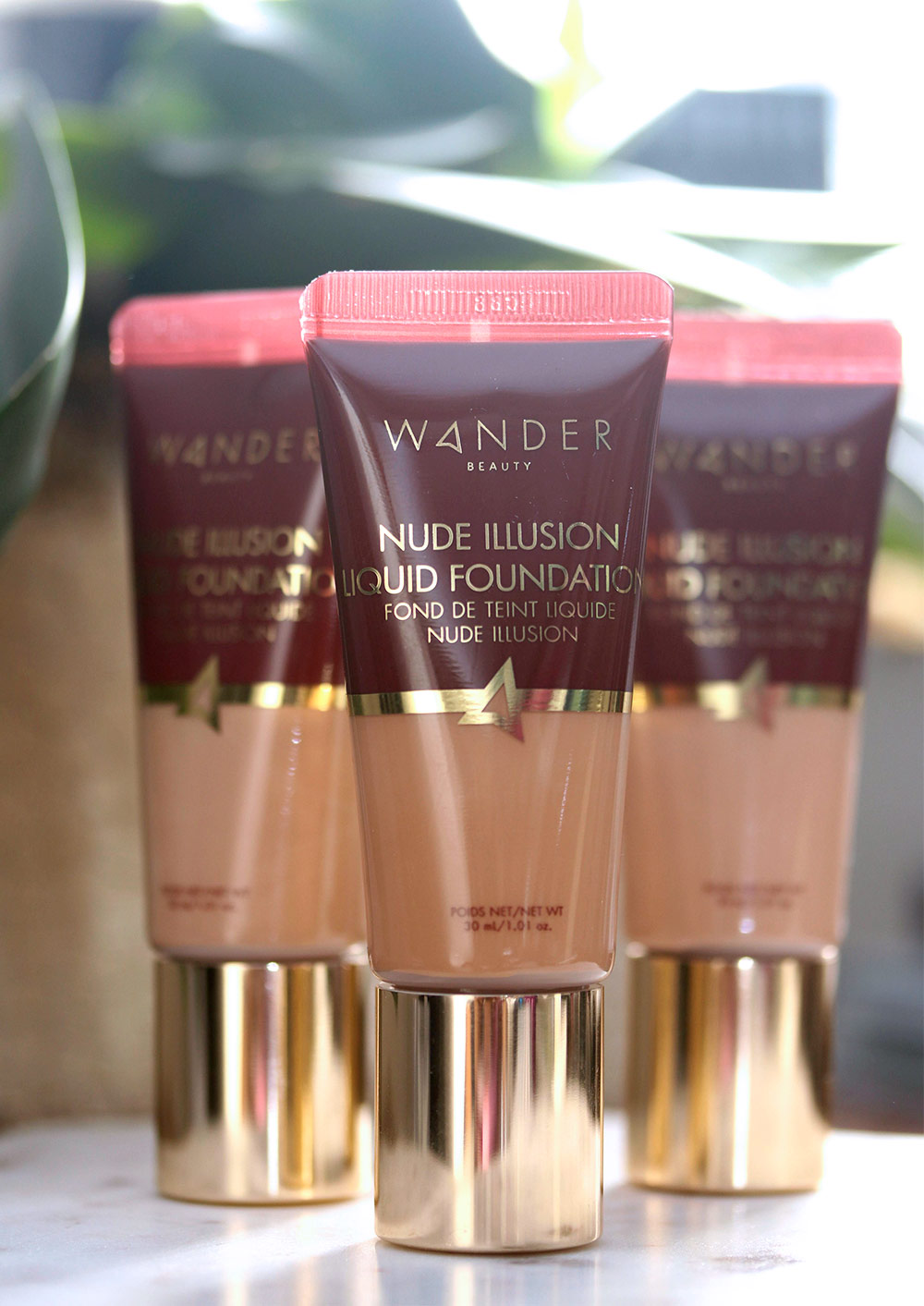 wander beauty nude illusion liquid foundation review