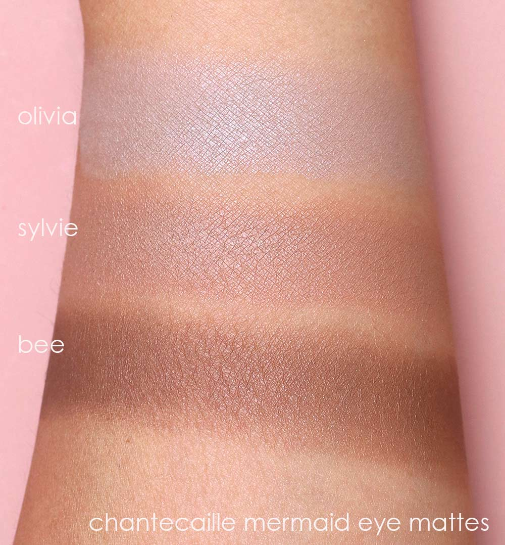 chantecaille mermaid eye mattes swatches