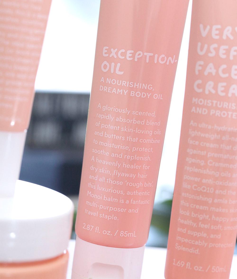 go to skin care exception oil
