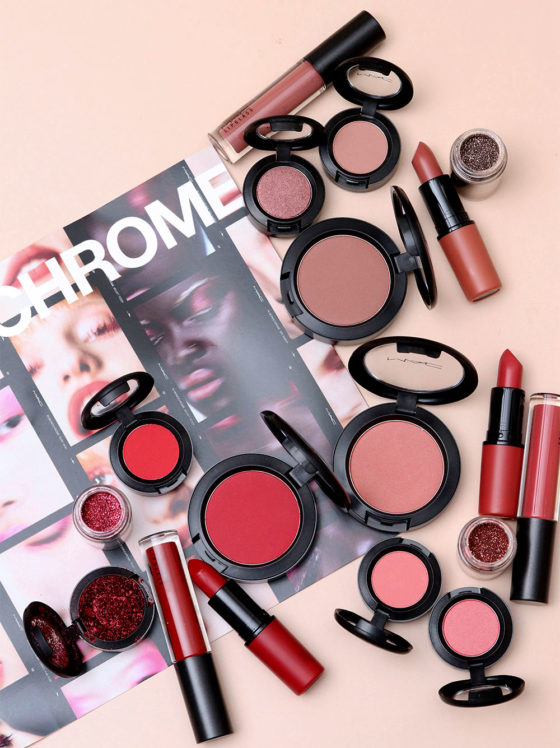 NEWNESS: The MAC In Monochrome Color Collections (Velvet Teddy, Ruby Woo and See Sheer)