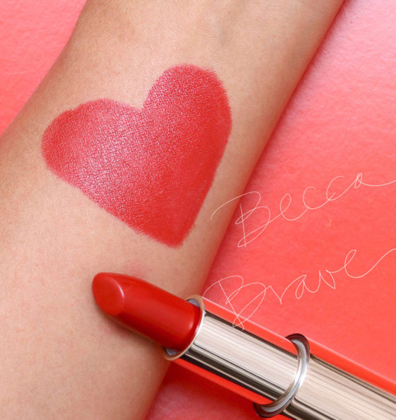 Ravenous for Red Lipstick: Behold BECCA Brave!