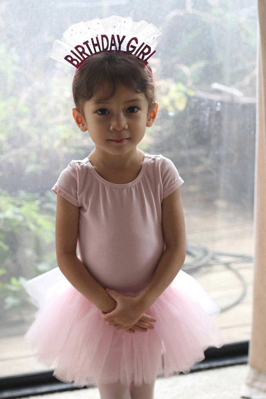 cocobaby birthday ballerina serious