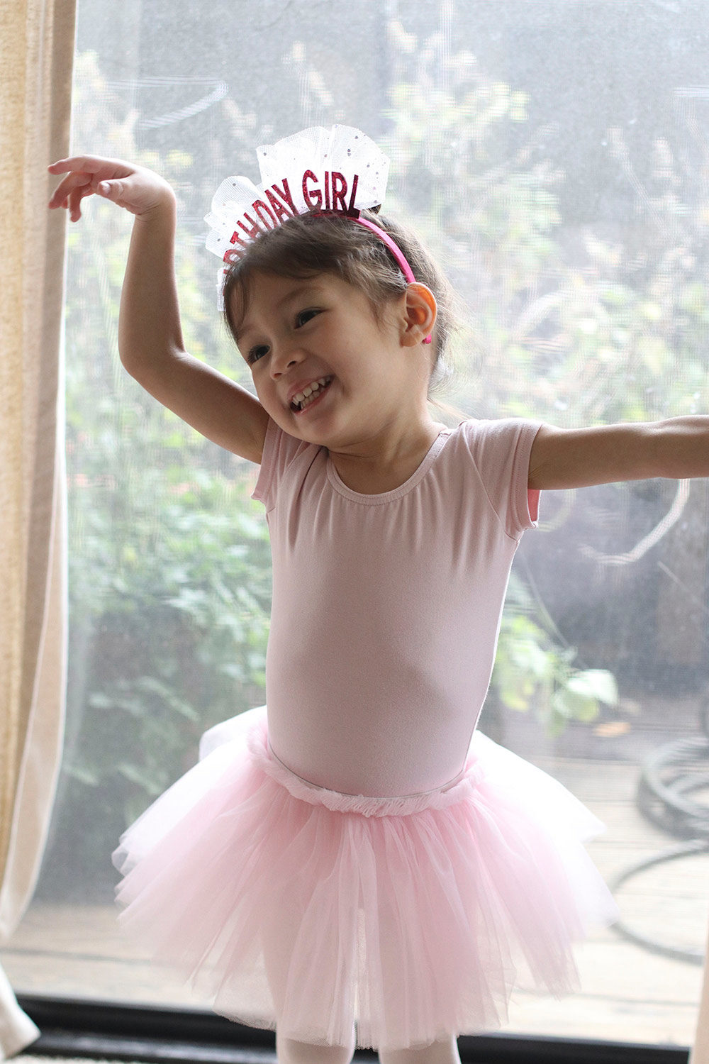 cocobaby birthday ballerina smile