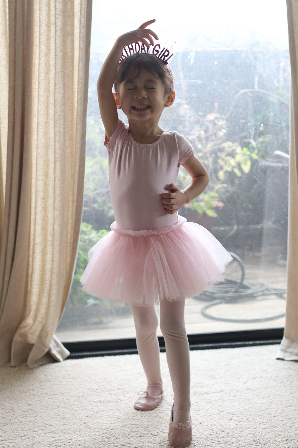 cocobaby birthday ballerina toe point