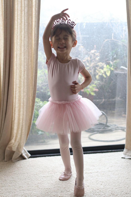 cocobaby birthday ballerina toe point