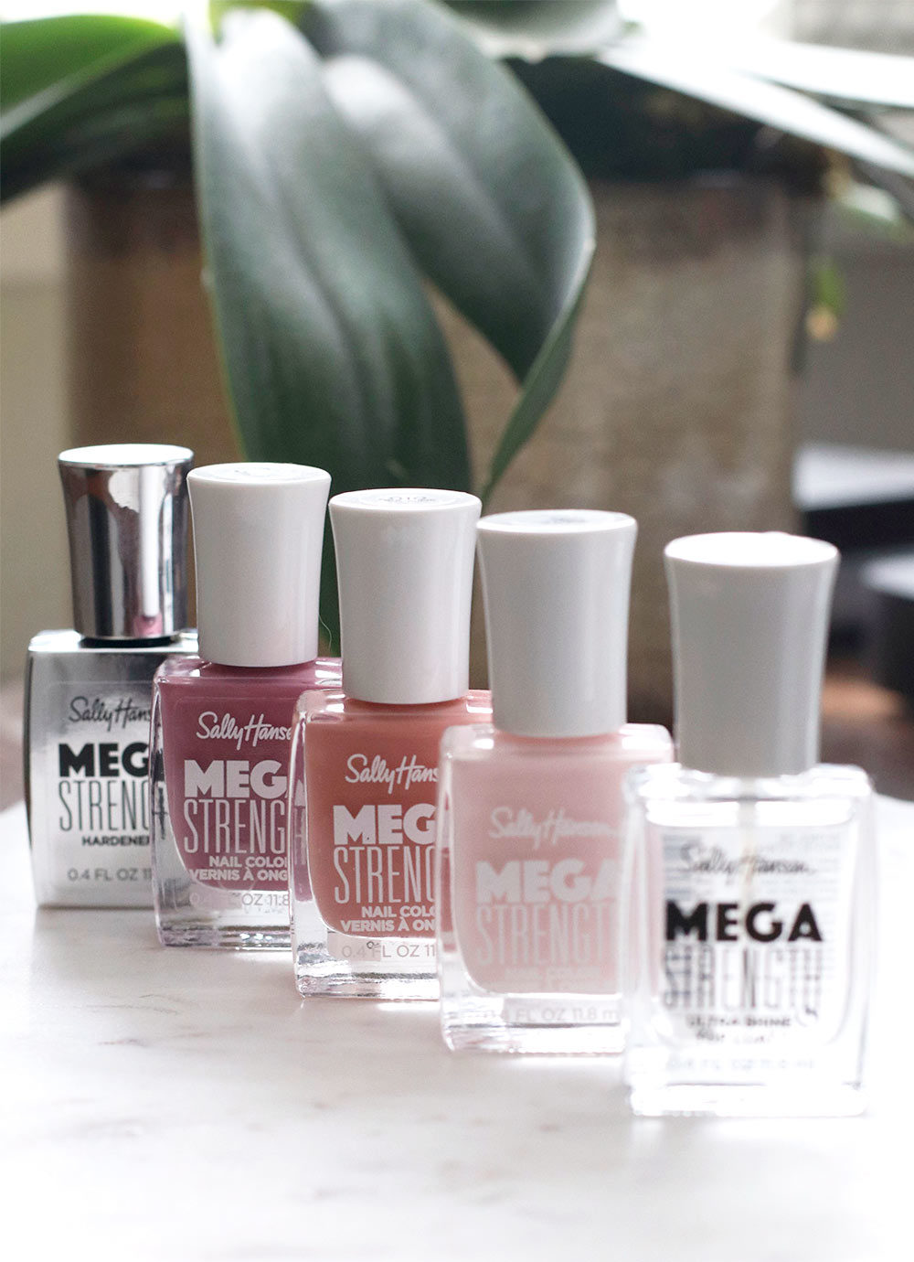 sally hansen mega strength shades