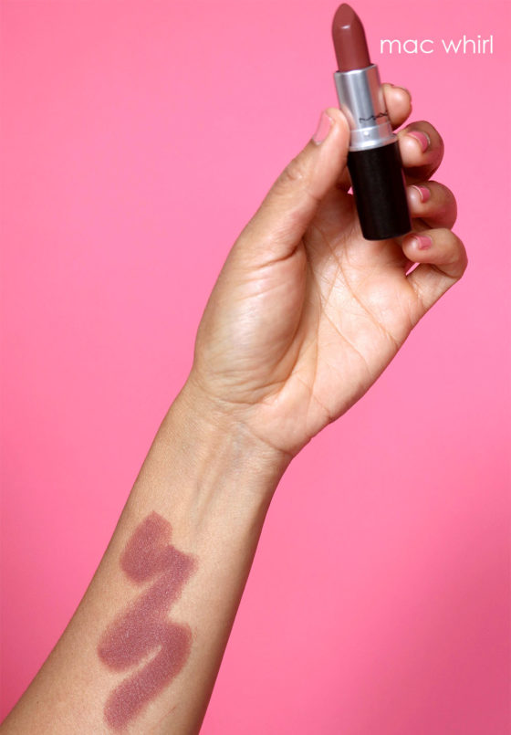 Spellbound by MAC Strip Down: Whirl Matte Lipstick